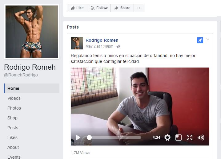 Mexican Rodrigo Romeh, The Cool Model And Cool Guy!