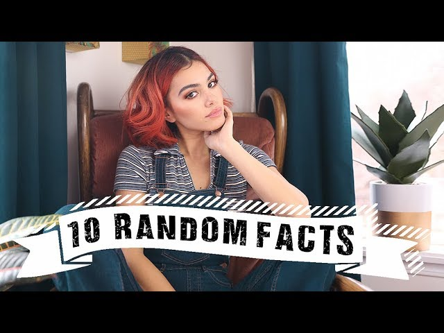 10 Random Facts About Me | Piercings, Photoshop, Phobias