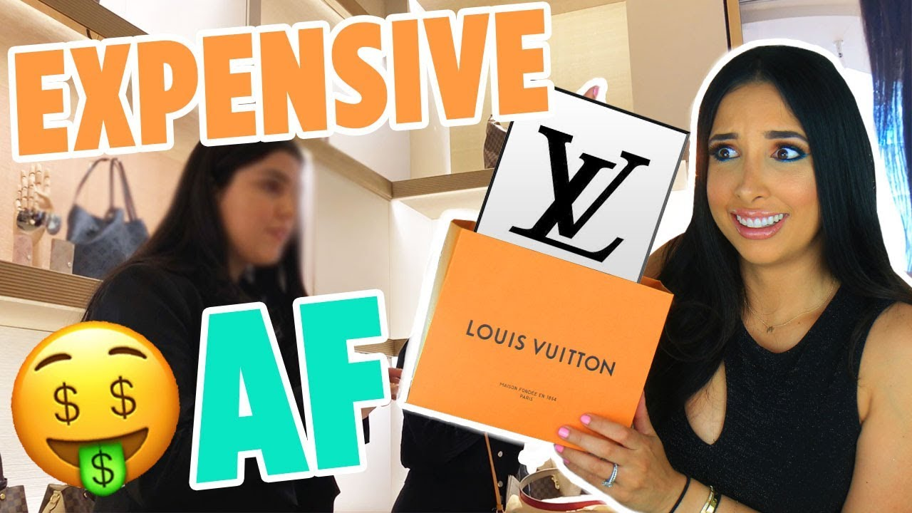 I BUY THE CHEAPEST THING AT LOUIS VUITTON And They LAUGH IN MY FACE | Mar