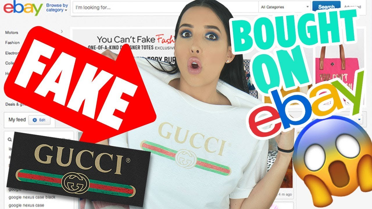 I Bought FAKE GUCCI Items On EBAY – I Got The Real Thing For $20?? | Mar