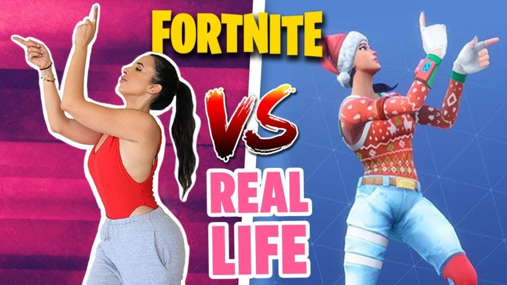 RECREATING FORNITE DANCES IN REAL LIFE CHALLENGE | Mar
