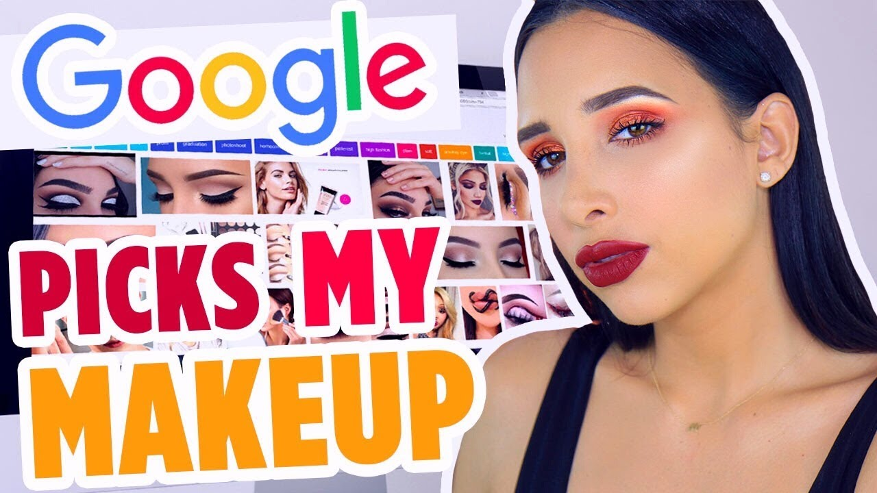 GOOGLE PICKS MY MAKEUP CHALLENGE! | Mar