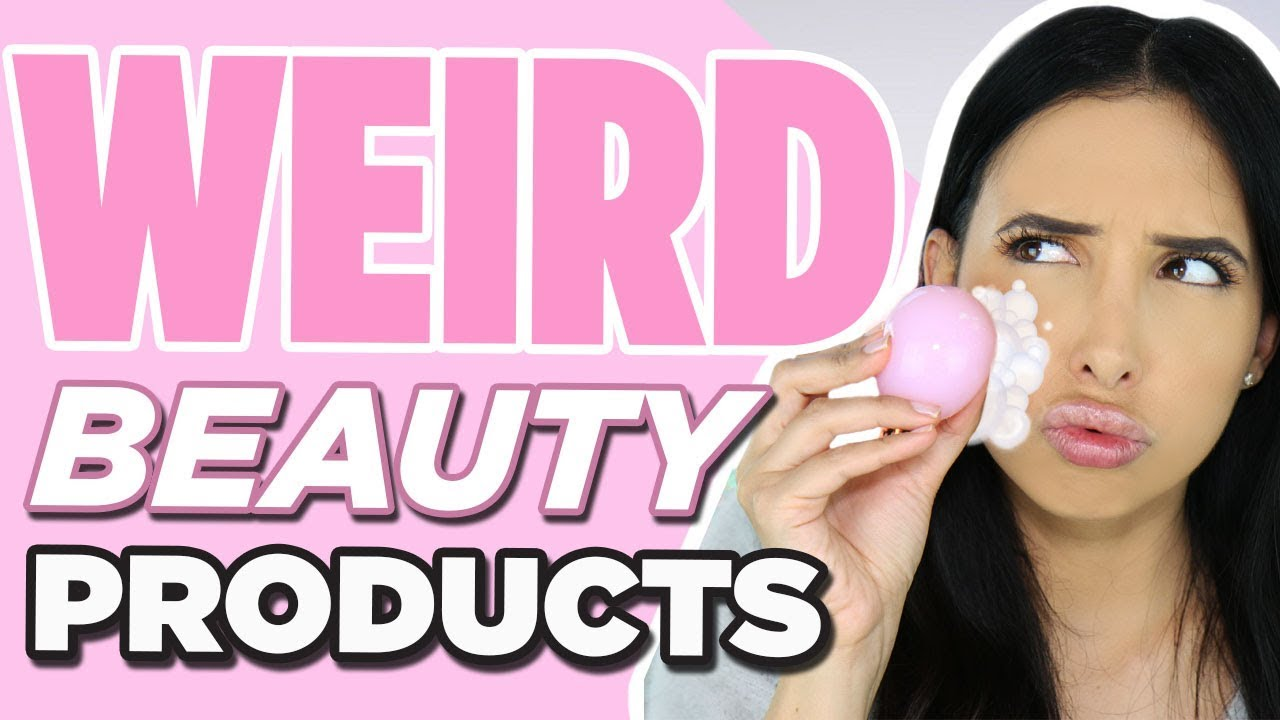 WEIRD BEAUTY PRODUCTS - MAGIC JELLY BALL AND MORE | Mar