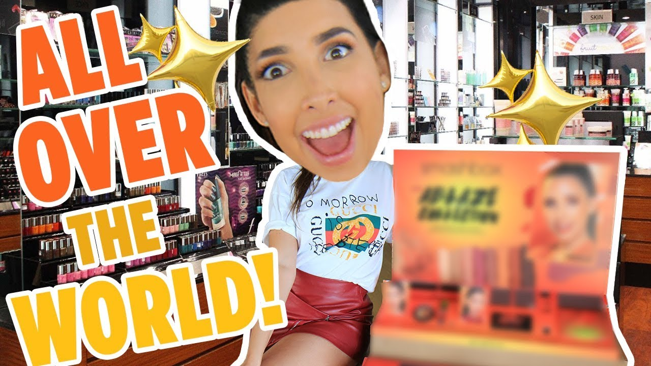 I'M THE NEW FACE OF A HUGE MAKEUP BRAND! My Face Is In All The Stores 😱 | Mar