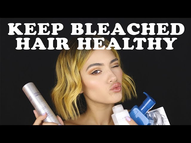How I Keep My BLEACHED Hair HEALTHY | Tips + Products I use!