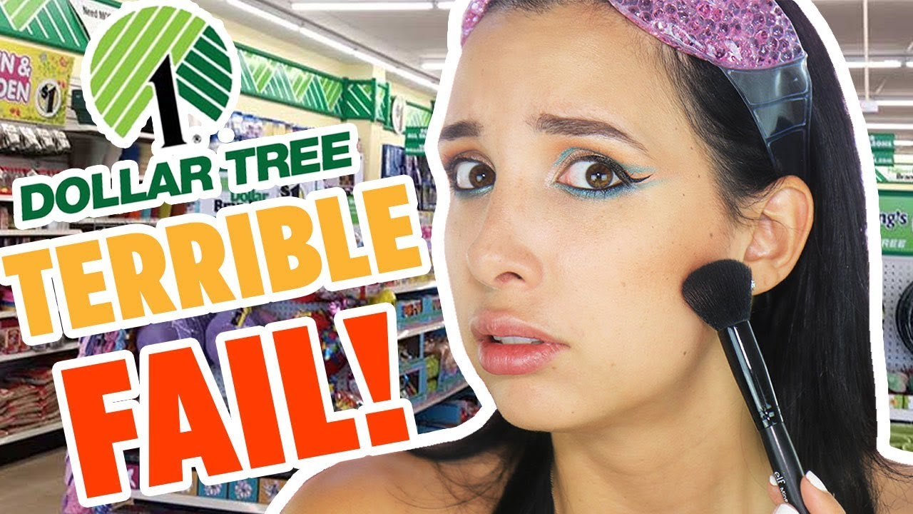 DOLLAR STORE MAKEUP CHALLENGE – Full Face Of Dollar Tree Makeup | Mar