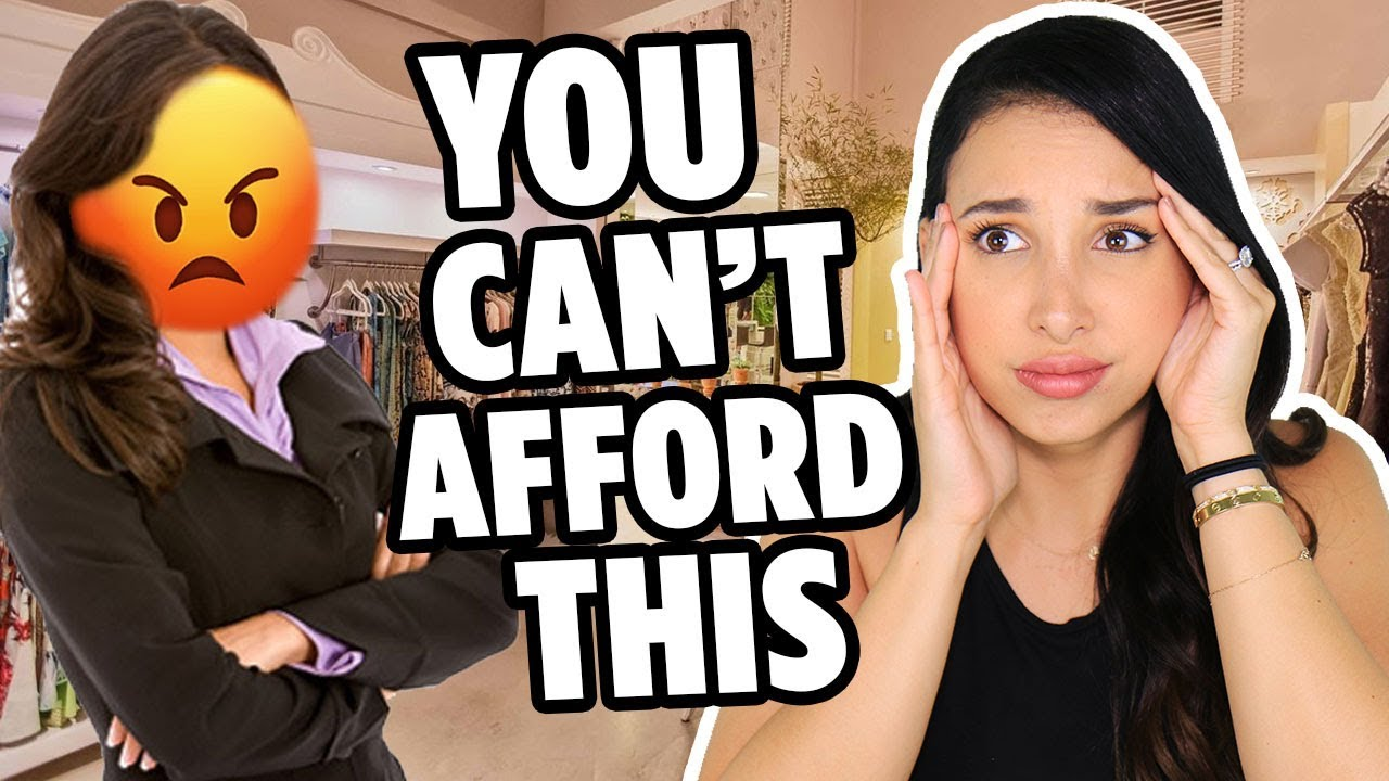 SHE YELLED AT ME FROM ACROSS THE STREET!! 😡- RUDE LUXURY STORE EMPLOYEE INSULTED ME STORYTIME   Mar