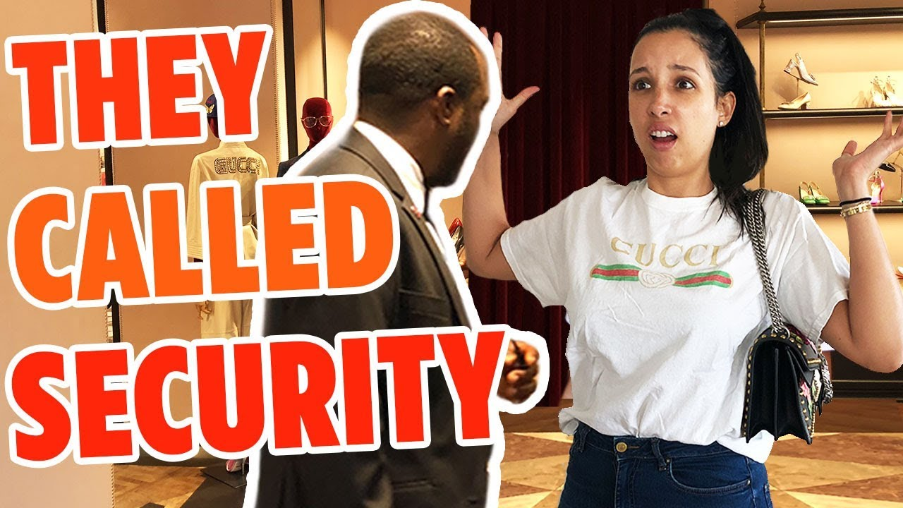 WEARING FAKE GUCCI TO THE GUCCI STORE IN PARIS - SOLD ME A USED BAG!! | Mar
