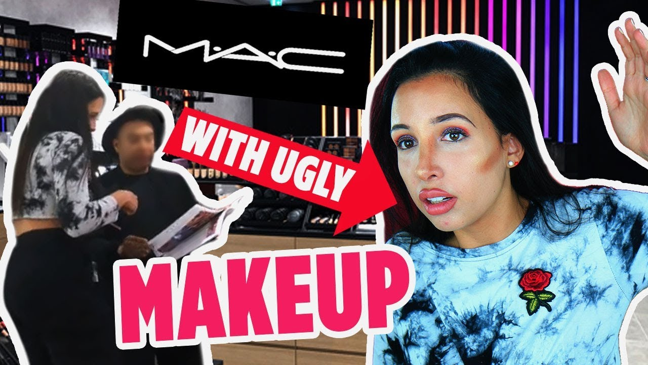 I Wore UGLY MAKEUP To The MAC Store – They Told Me It Looked GREAT 🤨 | Mar