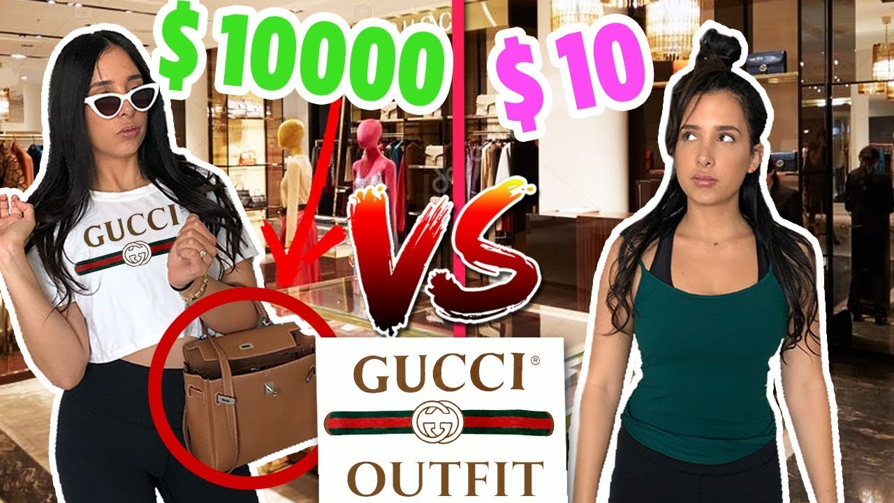 10$ Vs $10000 OUTFIT TO THE GUCCI STORE – I WAS CHASED OUT! | Mar