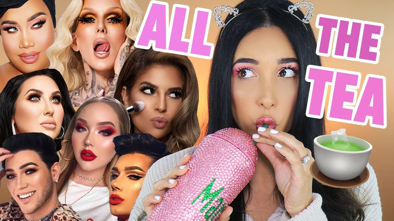 FULL FACE OF INFLUENCER MAKEUP - JEFFREE STAR, MANNY MUA, LAURA LEE AND MORE ☕️| Mar