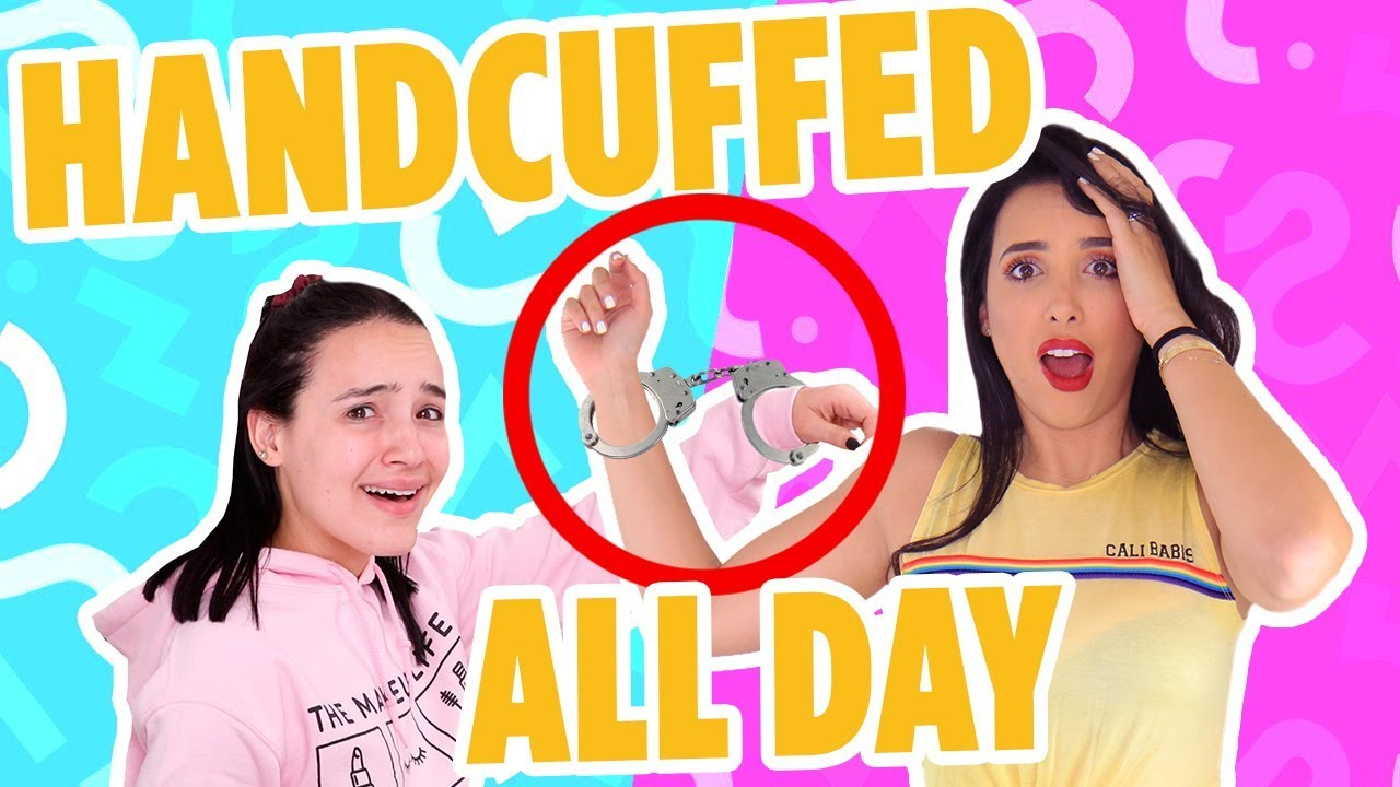 HANDCUFFED TO MY GIRLFRIEND FOR A DAY Ft AMANDA ENSING 🤲 | Mar