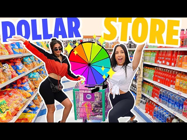 DOLLAR STORE MYSTERY WHEEL CHALLENGE Ft SSSNIPERWOLF | Mar