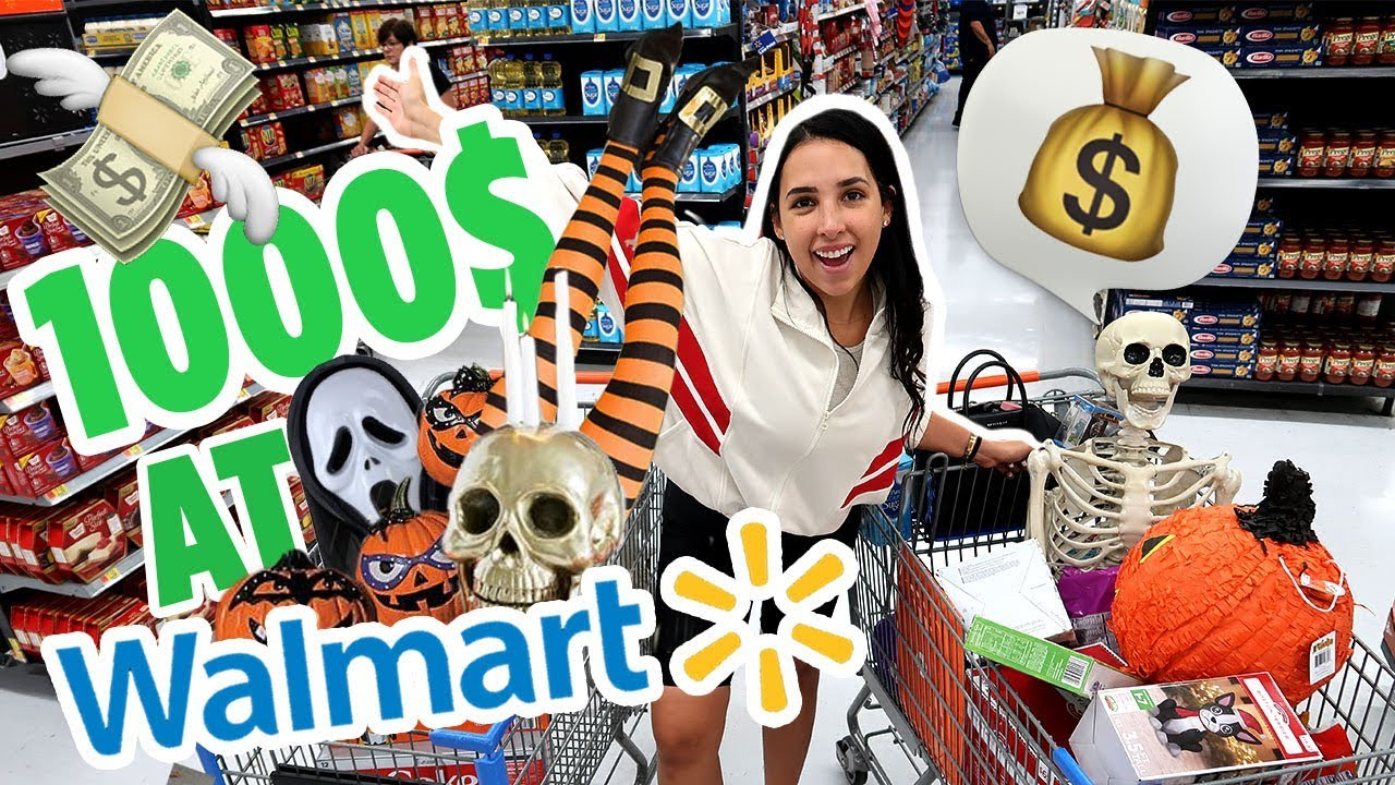 I WASTED $1000 AT WALMART! 🤑| Mar