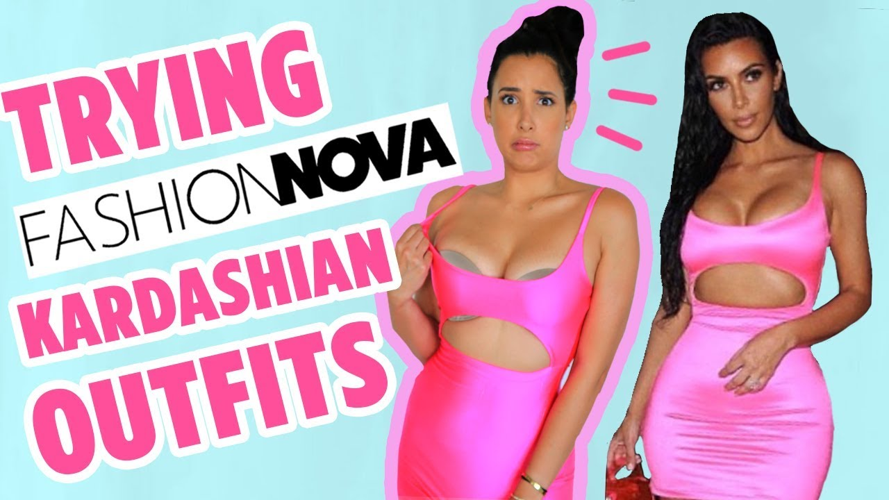 TRYING ON KARDASHIAN OUTFITS FROM FASHION NOVA | Mar