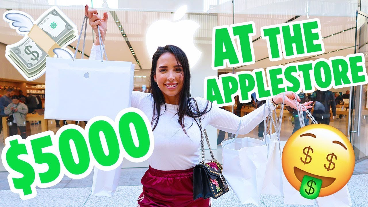 I WASTED $5000 AT THE APPLE STORE (+ HUGE GIVEAWAY AT THE END!) | Mar