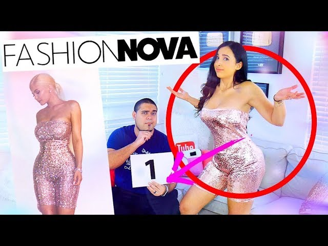 BOYFRIEND RATES MY KYLIE JENNER FASHION NOVA OUTFITS | Mar