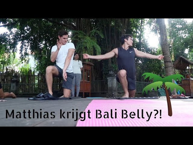 Matthias Heeft Bali Belly?!