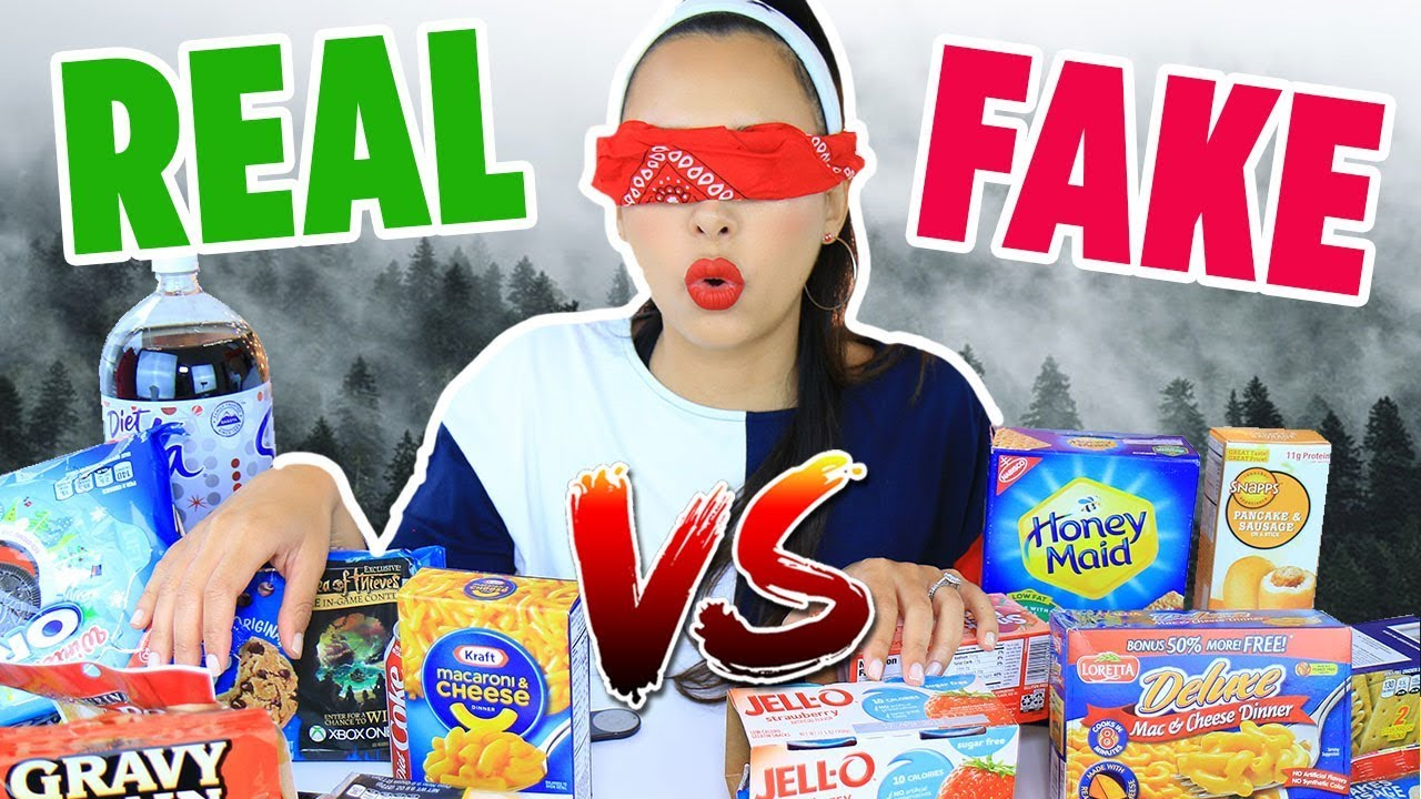 DOLLAR STORE Vs BRAND FOOD BIRD BOX BLINDFOLDED CHALLENGE | Mar
