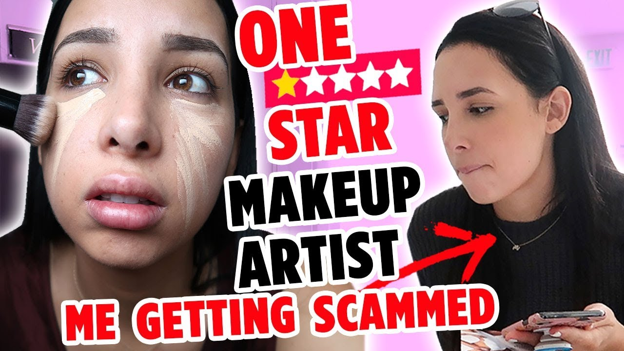 I WENT TO THE WORST REVIEWED MAKEUP ARTIST ON YELP IN MY CITY – I WAS SCAMMED!! | Mar