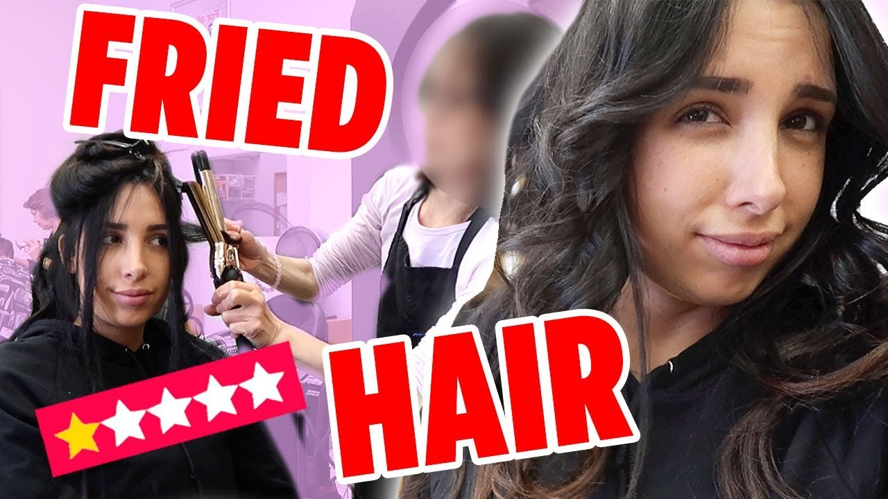 I WENT TO THE WORST REVIEWED HAIR SALON IN MI CITY ON YELP (1 STAR ⭐️) | Mar