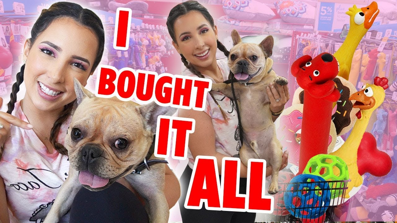 Buying My Dog EVERYTHING He Touches | Mar