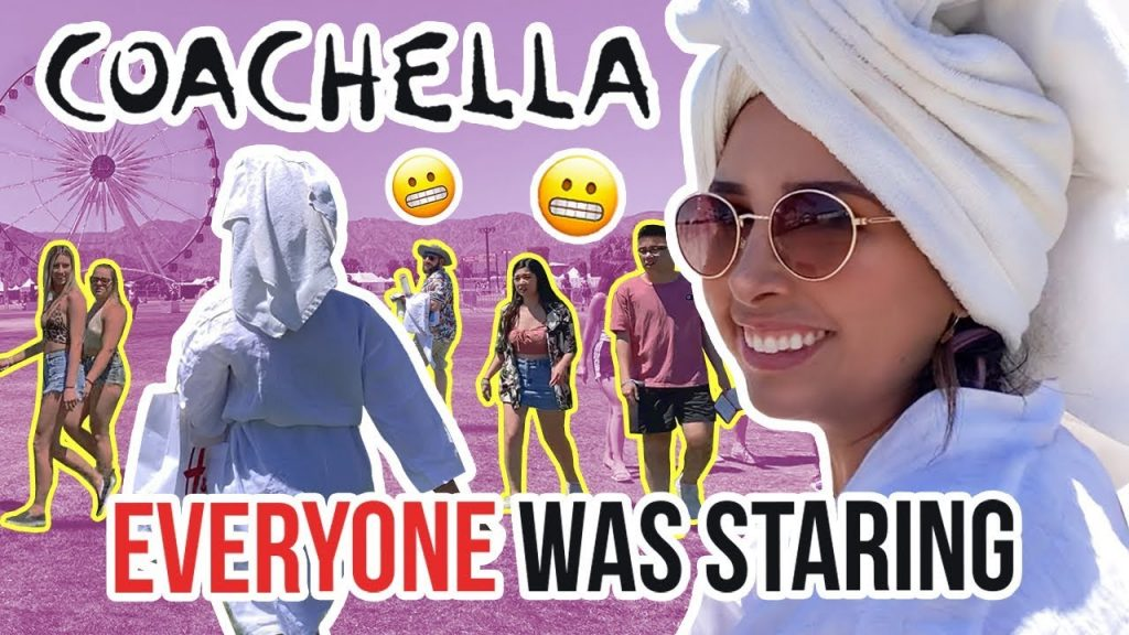 I WENT TO COACHELLA WEARING A BATHROBE - EVERYONE WAS STARING | Mar