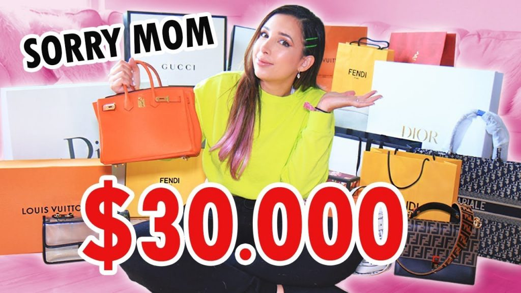 I SPENT TOO MUCH... - $30,000 LUXURY HAUL DESIGNER SHOPPING (GUCCI, DIOR, FENDI AND MORE!) | Mar