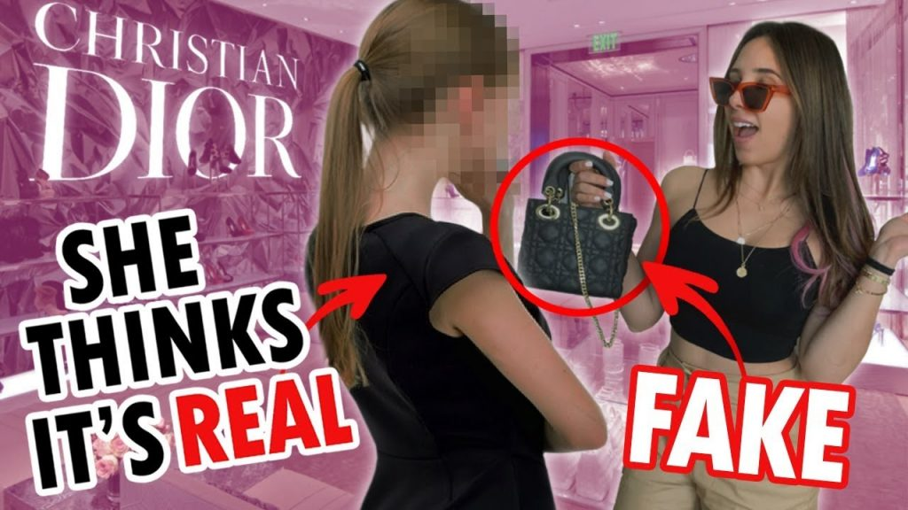 WEARING FAKE DIOR TO THE DIOR STORE IN LONDON (AND BUYING THE REAL THING) | Mar