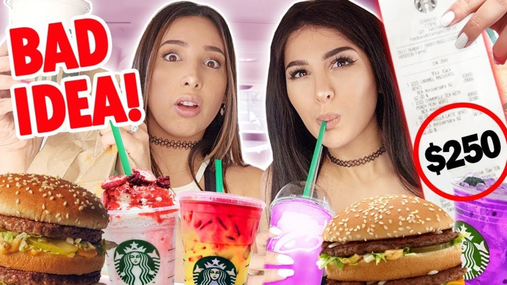 Letting The Person in Front of US Decide What WE EAT for 24 Hours ft SSSNIPERWOLF and DIGITAL | Mar