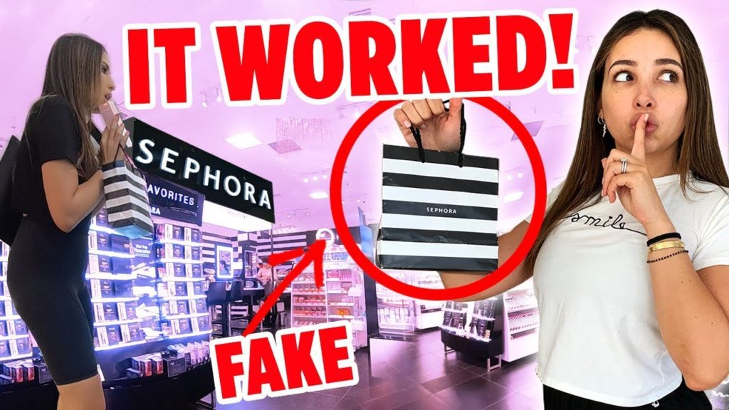 I RETURNED FAKE MAKEUP TO SEPHORA AND THEY TOOK IT! I FILMED EVERYTHING | Mar