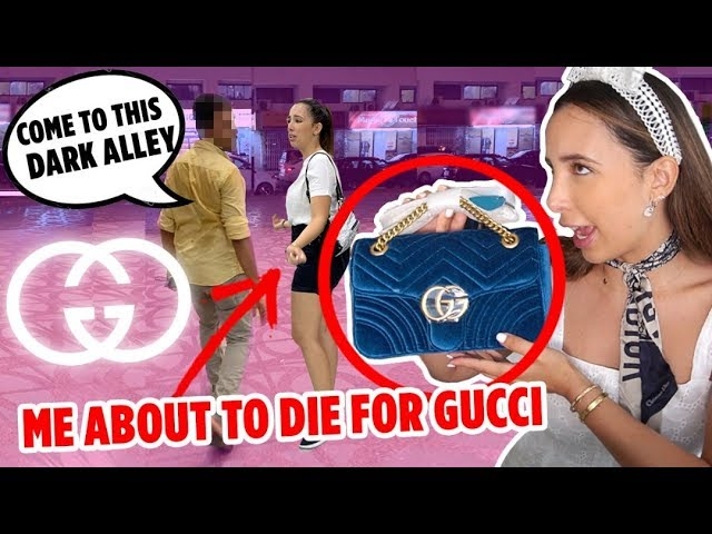 BUYING FAKE GUCCI IN DUBAI 🇦🇪 THE MOST EXPENSIVE FAKES – I FILMED EVERYTHING!! | Mar