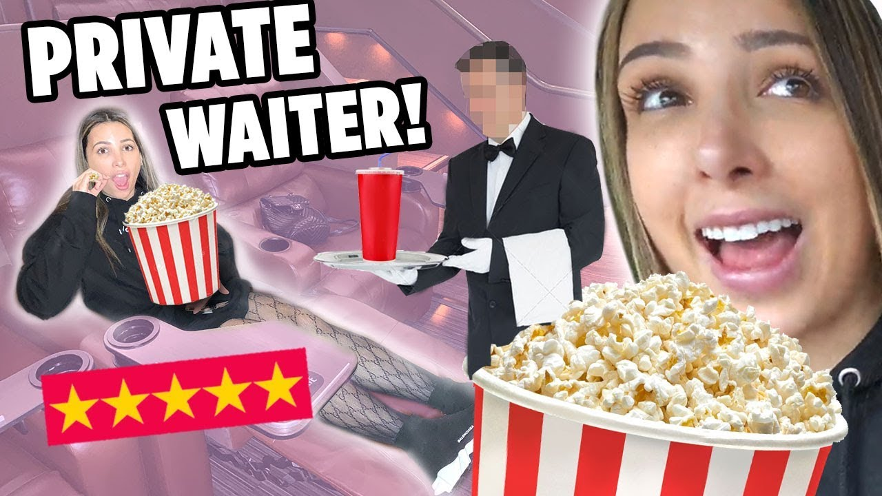 I WENT TO THE BEST REVIEWED MOVIE THEATER ON YELP IN MY CITY (5 STARS ⭐️) – NO POPCORN? 🍿 | Mar